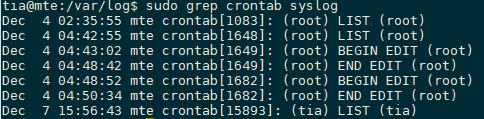 cron-tab-log