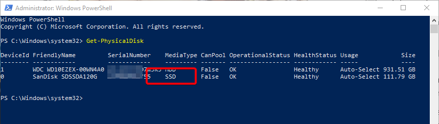 How to Find Out If Your Windows System Has SSD or HDD - Make