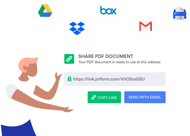Create and Turn Form Responses into PDFs with JotForm PDF