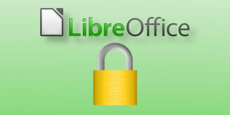 Encrypt Documents LibreOffice