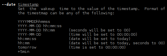 rtcwake-time-date-specification