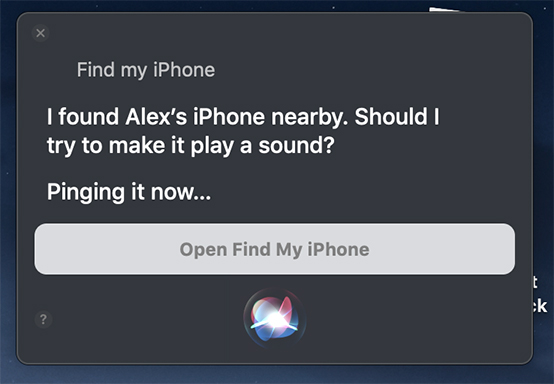 siri-find-iphone-confirm-alert-sound-ringing