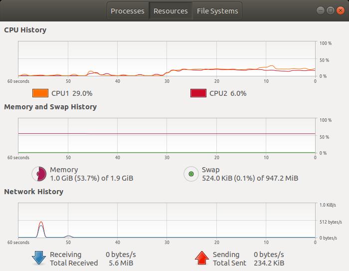 ubuntu-memory-system-monitor-resources