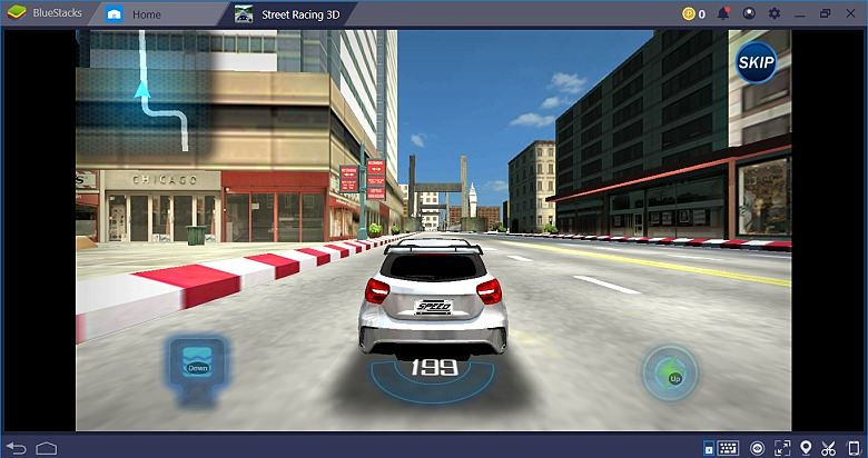 Street Racer 3D on Bluestacks