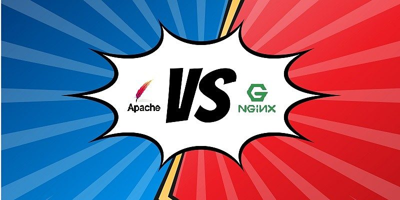 Featured Apache vs Nginx Design Credits: Vecteezy.com-226441