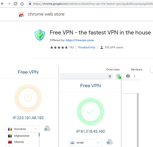 free-vpn-chrome-extension