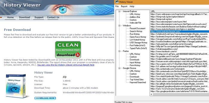 history-viewer-software-screenshots