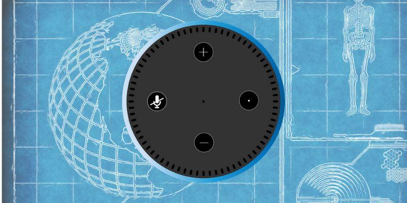 Индивидуальный навык Alexa с использованием чертежей