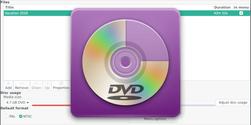 Create DVD Images With DevedeNG