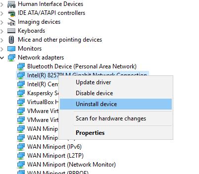 dns-error-uninstall-device