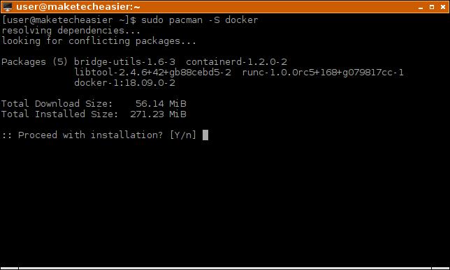 How to Install Docker in Linux - Make Tech Easier
