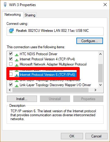 fix-no-internet-secured-message-windows-ipv6