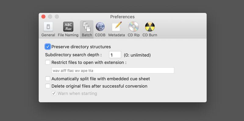 xld mac batch convert