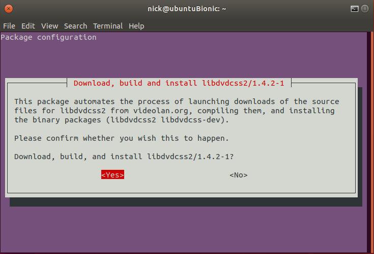 libdvdcss2 ubuntu