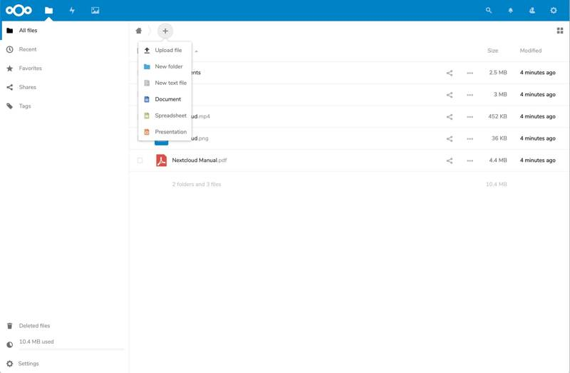 install-nextcloud-onlyoffice-ubuntu-interface