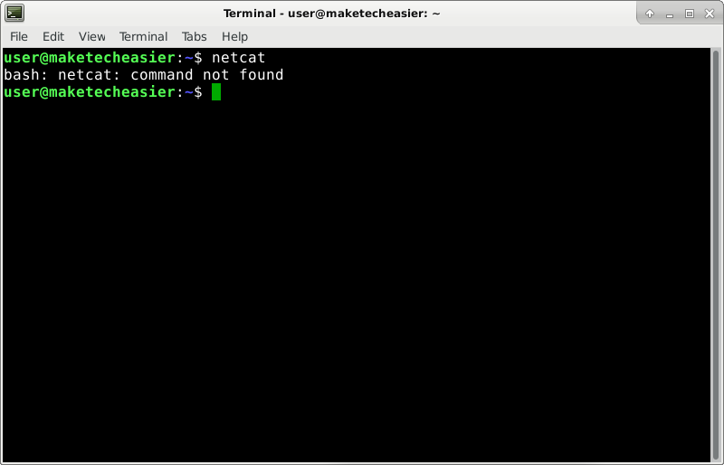 netcat-command-not-found