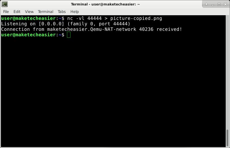 netcat-receiving-file