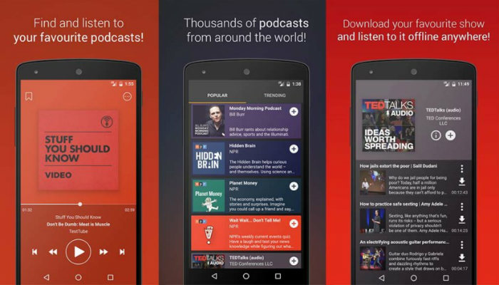 5 of the Best Free Android Podcast Apps - Make Tech Easier