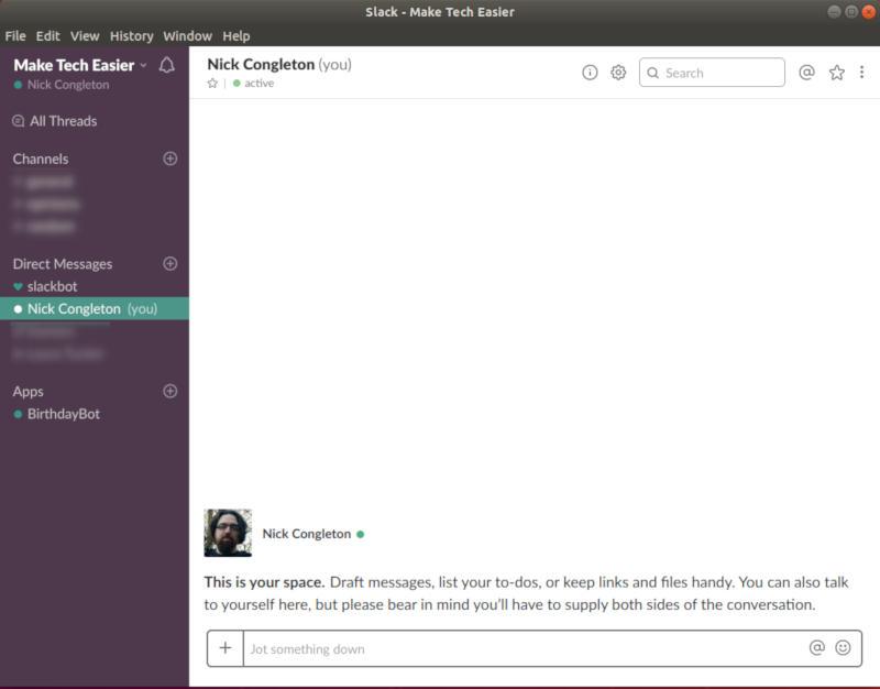 Slack on Ubuntu