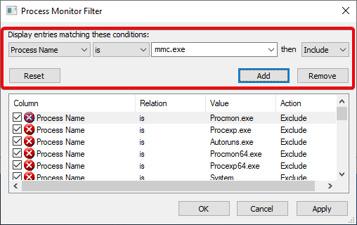 win-10-see-changes-to-registry-03-add-first-filter
