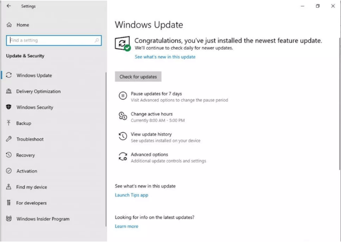 windows-10-new-features-updates-2019-pause-update