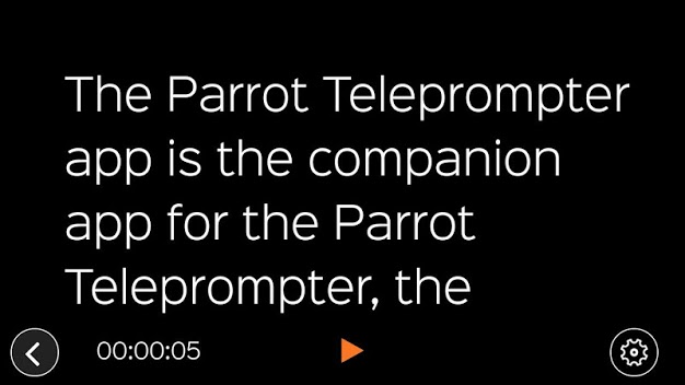 android-teleprompter-app-parrot-teleprompter