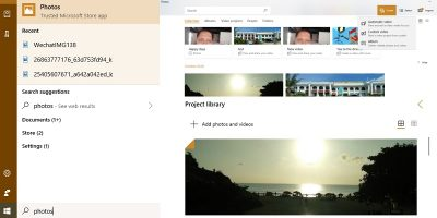 Microsoft Photos Video Editing Mode Featured