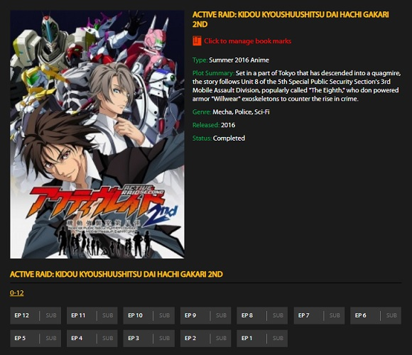 best anime websites for android