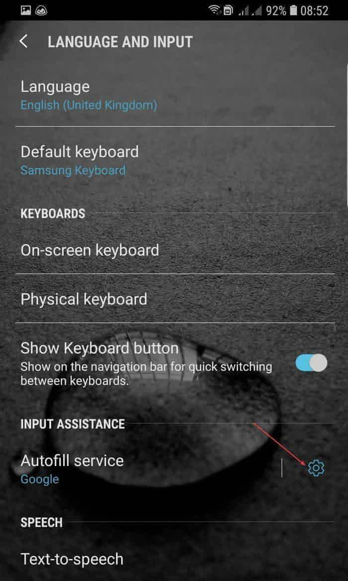 How to Autofill Password in Android - Make Tech Easier