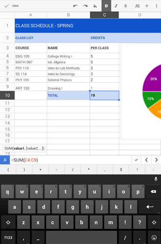 best-spreadsheet-apps-android-google-sheets