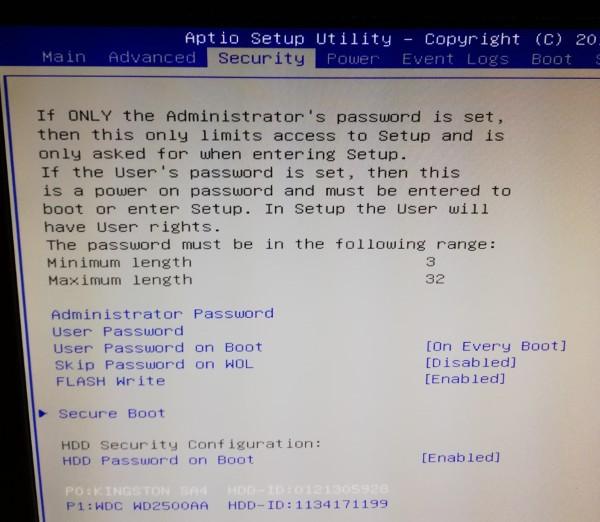 disk-lock-uefi-security-menu