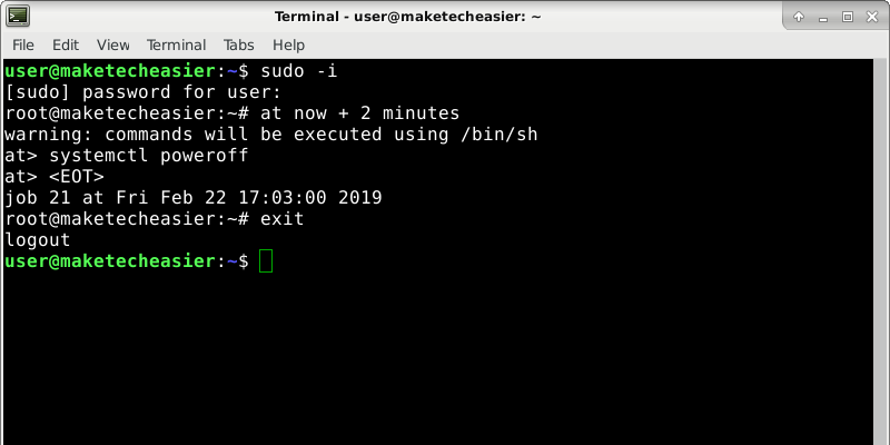 How to Schedule Commands in Linux with the