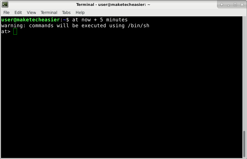 linux-at-prompt