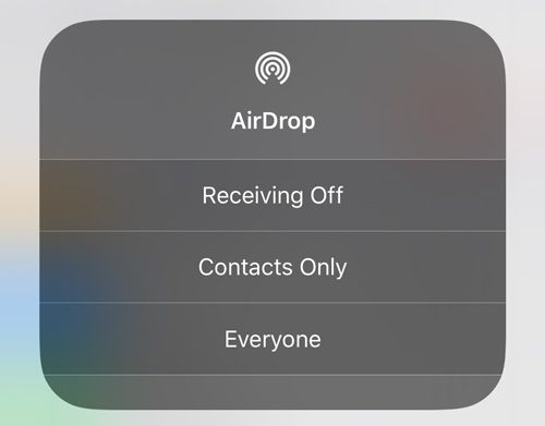 Airdrop Problems Control Center