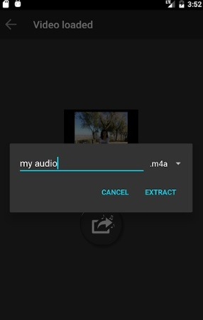 Extract Audio from Video Play Store App