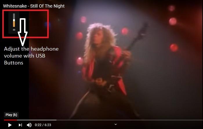 Usb Adaptor Adjust Headphone Volume Youtube Video Still Of The Night By Whitensake