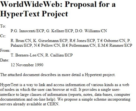World Wide Web Proposal