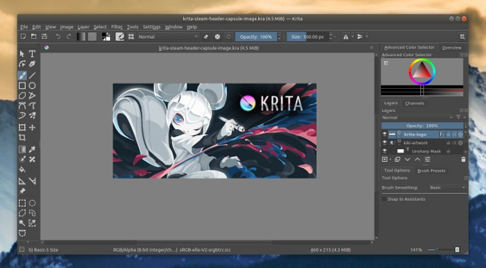 best-open-source-software-2019-krita