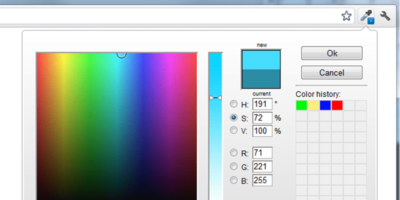 Colorzilla Featured