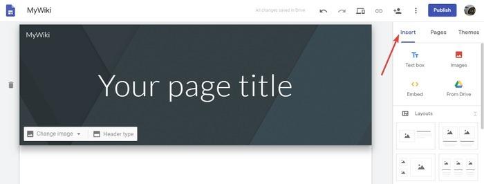 create-a-wiki-site-create-insert