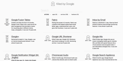 Killed By Google Featured