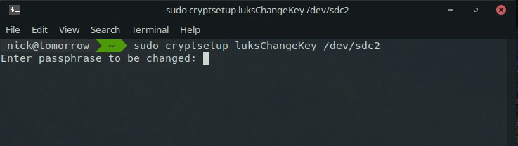 How to Change Your LUKS Encryption Passphrase - Make Tech Easier