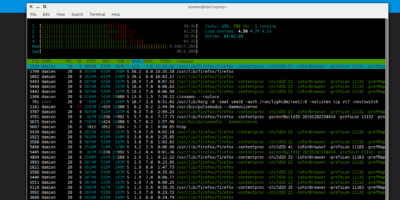 System Monitor Htop Ubuntu Featured