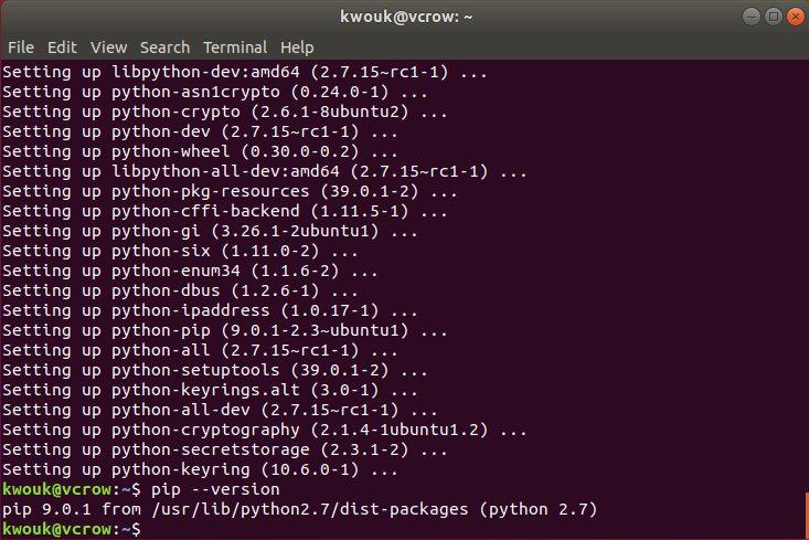 ubuntu-install-pip-pip2-version