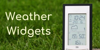 Weather Widgets Featured Image