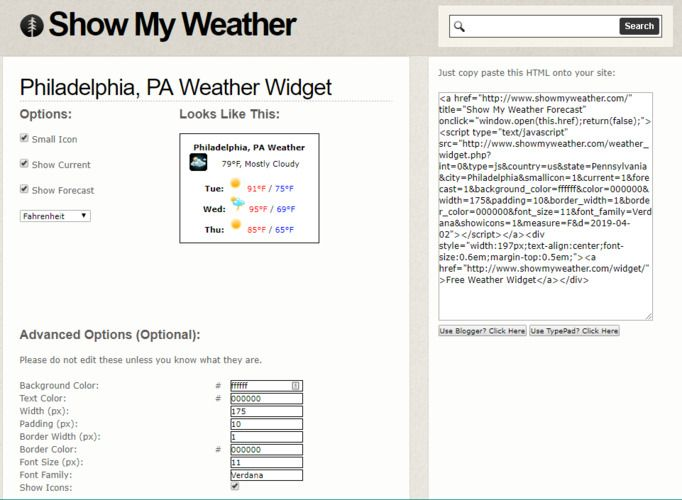 The Best Weather Widgets for Your Website - Make Tech Easier