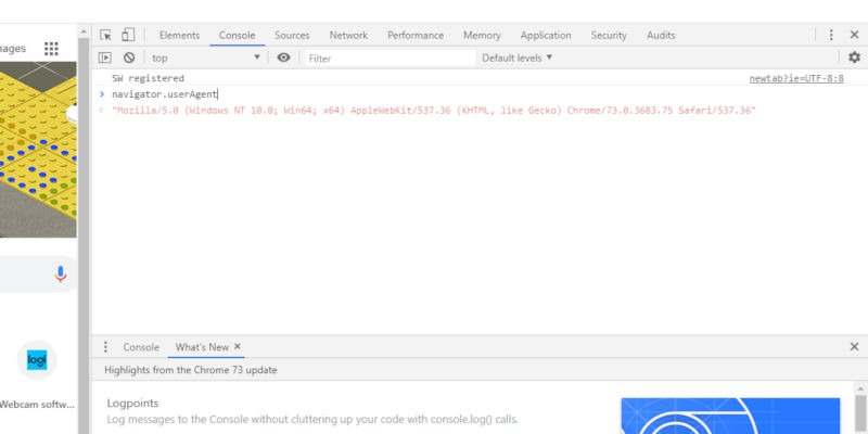Chrome on Windows Agent String