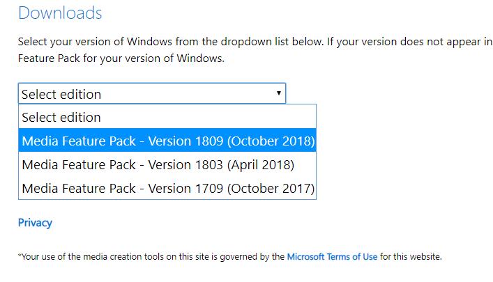windows-media-select-version
