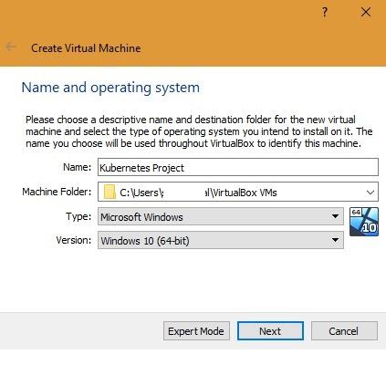 Create Kubernetes Virtual Machine On Virtualbox