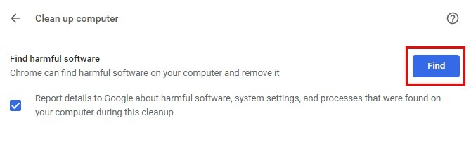 chrome connection reset